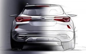 Kia Sp2i Sketch Rear