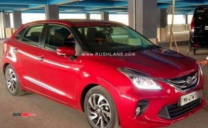 Toyota Glanza Spy New 2