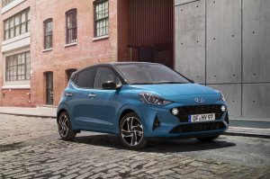 Euro Spec 2019 Hyundai I10 Front Three Quarter Lef