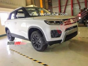 2020 Maruti Brezza Petrol Facelift Bs6 Launch Pric