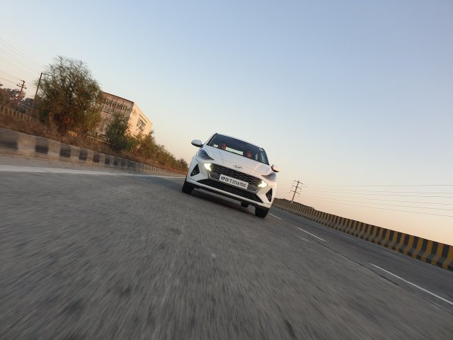Hyundai Aura Review Images Action Photo 3