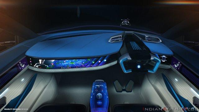 Maruti Concept Futuro E Interior Dashboard