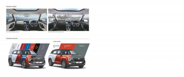 2020 Hyundai Creta Brochure Page 9 Colours