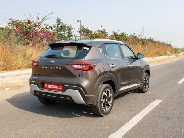 All New Nissan Magnite First Review Action Rear