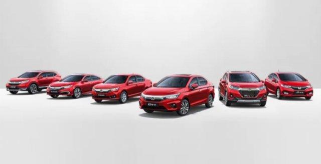 Honda Cars India Lineup