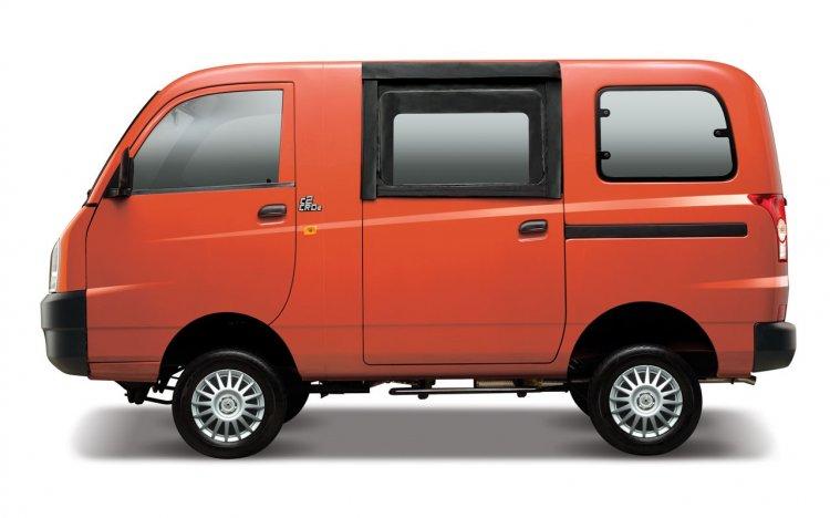 Mahindra Maxximo Mini Van side