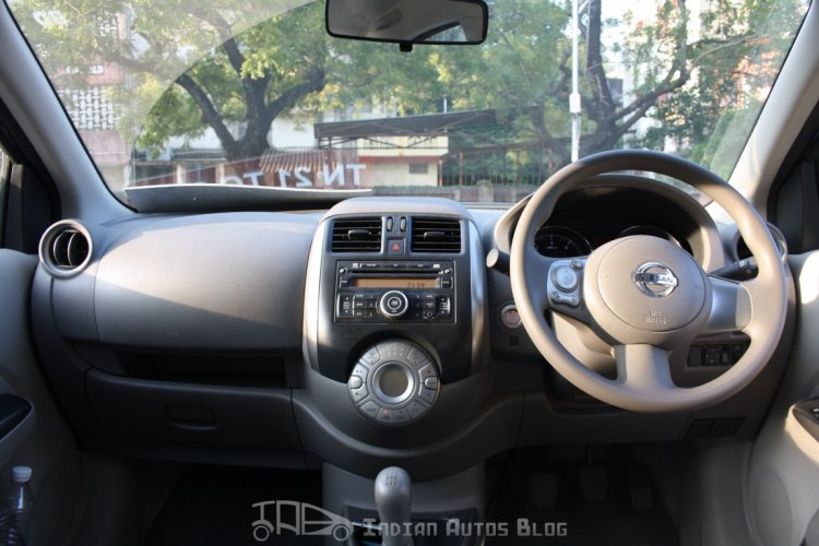 Except for the stereo, AC vents and twin pod instrument cluster, this is a photo copy of the Micra's interior