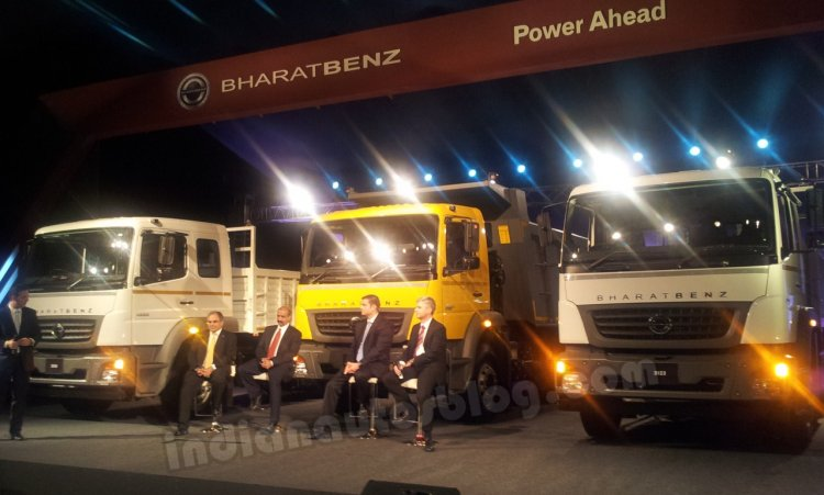 BharatBenz range launches in India