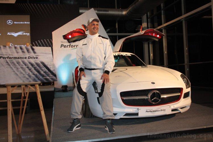 2013 Mercedes Benz Performance Drive with Mr. Eberhard Kern
