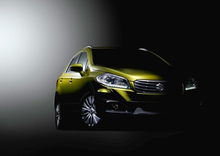 Suzuki C-segment S-Cross based crossover for Geneva 2013