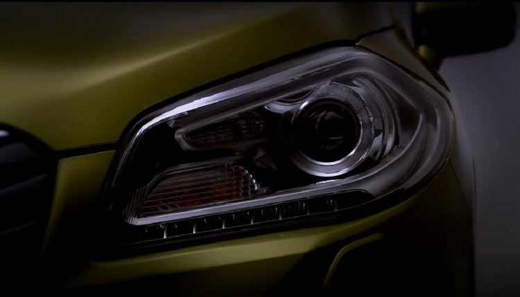 Suzuki S-Cross based C-Segment crossover headlamp cluster