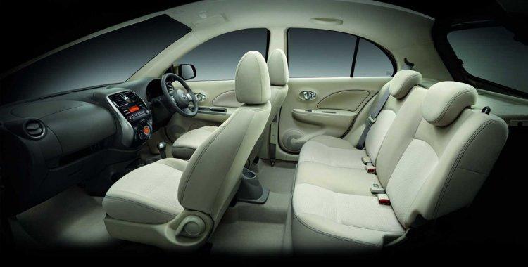 2014 Nissan Micra facelift Thailand interior