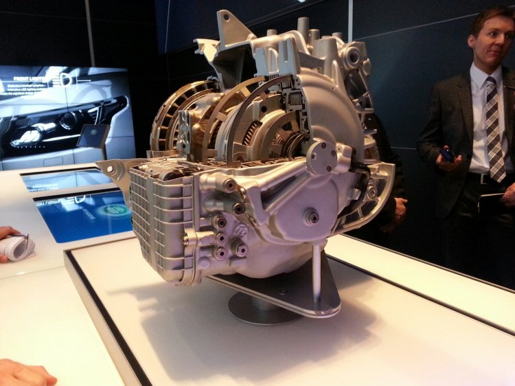 Land Rover ZF 9-speed gearbox