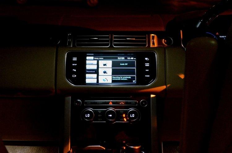Range Rover music system