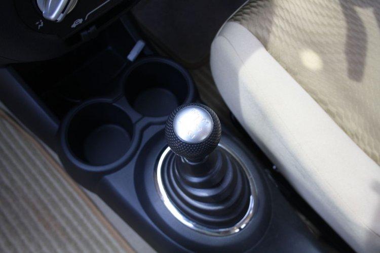 Gear lever of the Honda Amaze