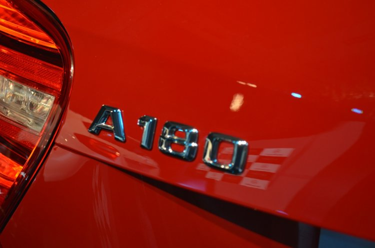 Mercedes A Class A180 badge