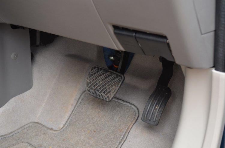 2013 Nissan Micra CVT automatic pedals