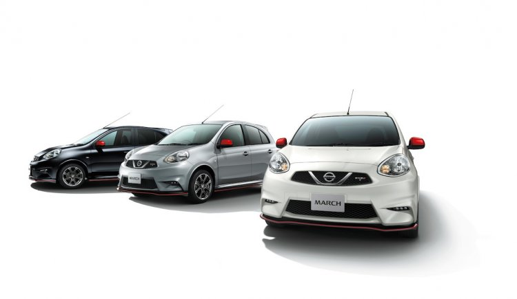 Nissan Micra:March NISMO colors