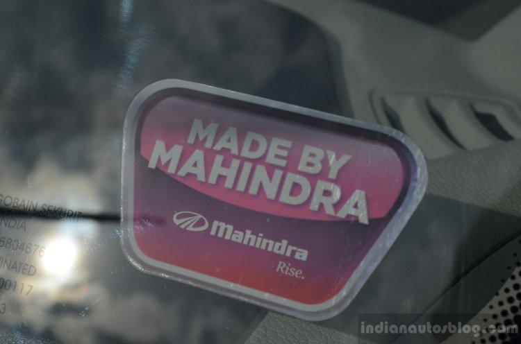 Mahindra Verito Vibe Mahindra sticker