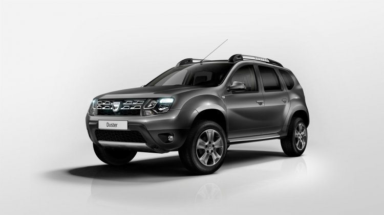 Dacia Duster facelift front