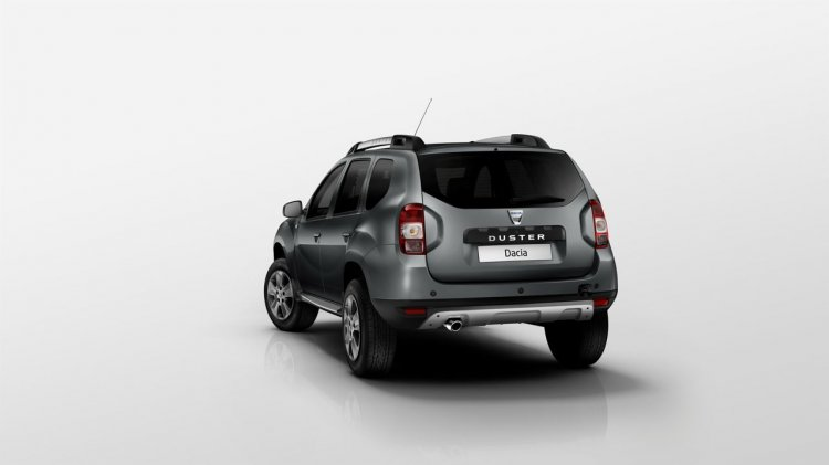 Dacia Duster facelift rear