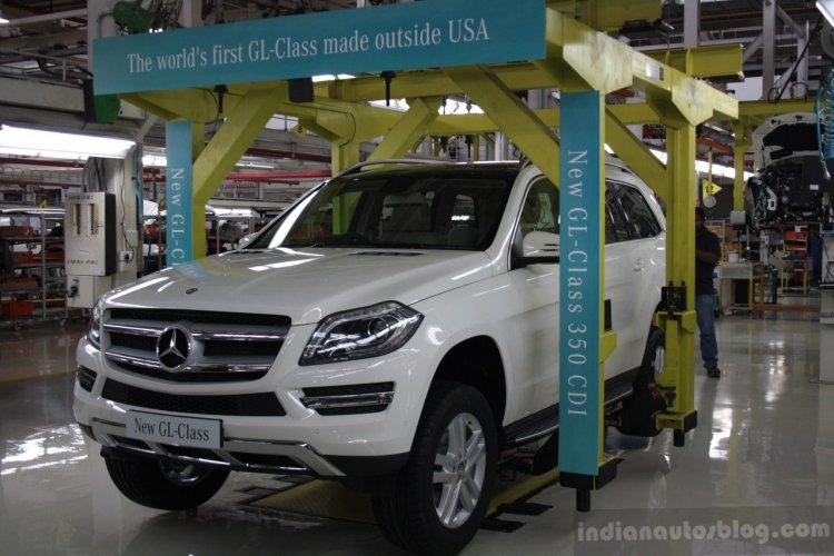 Made-in-India 2014 Mercedes GL Class