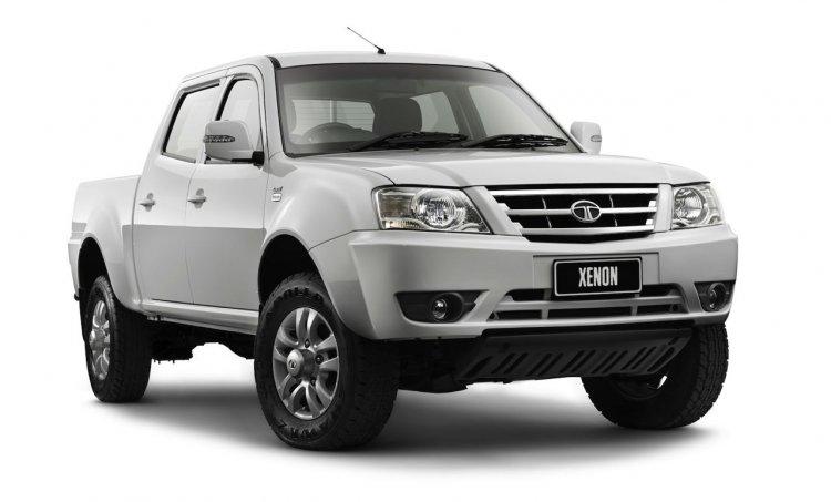 Tata Xenon Australia front three quarters