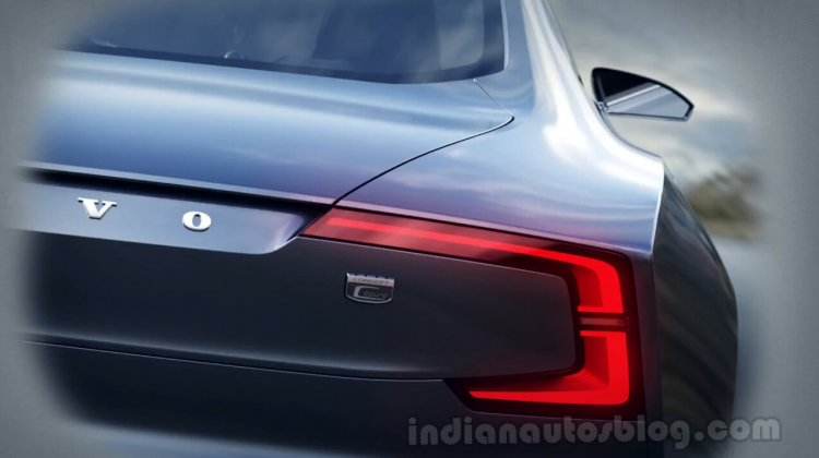 Volvo Concept Coupe rear