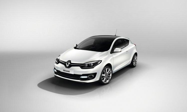 2014 Renault Megane facelift coupe front