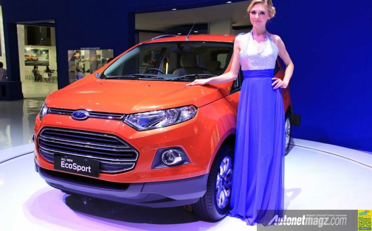 Ford EcoSport Indonesia International Motor Show