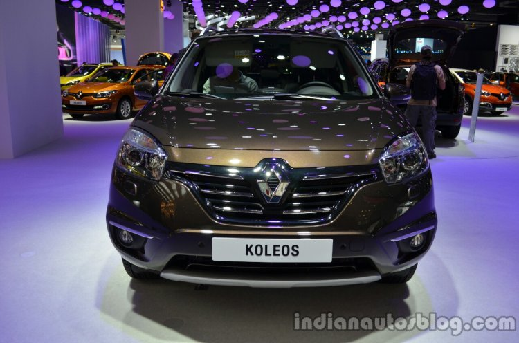 Front of the 2014 Renault Koleos