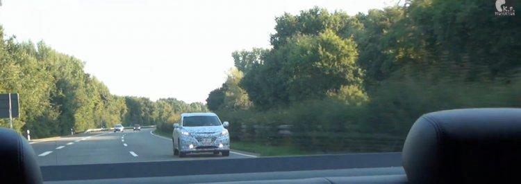 Honda Urban SUV spied front