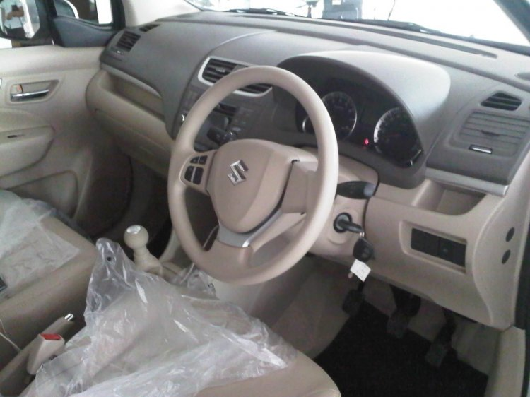 Interior of the Suzuki Ertiga Elegant in Indonesia