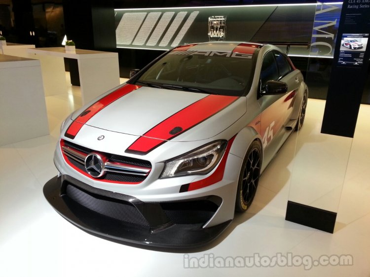 CLA 45 AMG Racing Series front quarter