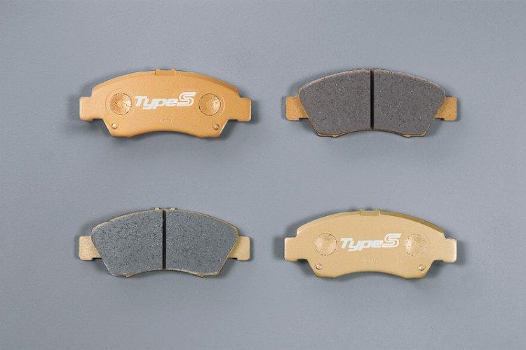 Mugen Type S brake pad for 2014 Honda Jazz