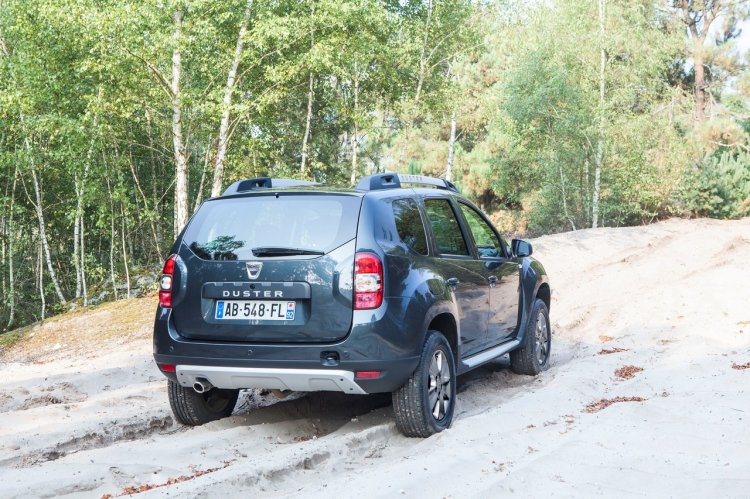 Rear of the 2014 Dacia Duster