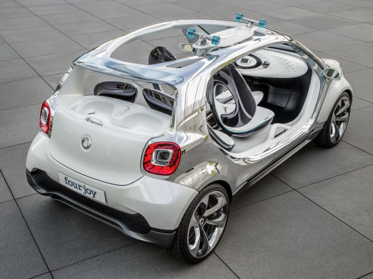 Smart FourJoy Concept rear three quarters right