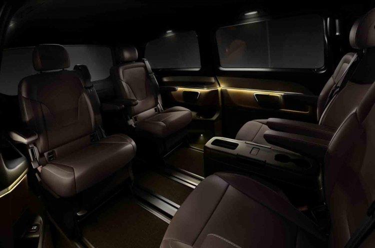 Mercedes V Class seats