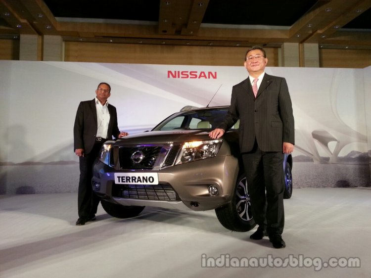 Nissan Terrano launch