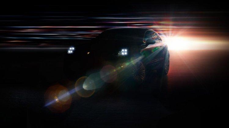 Porsche Macan teased