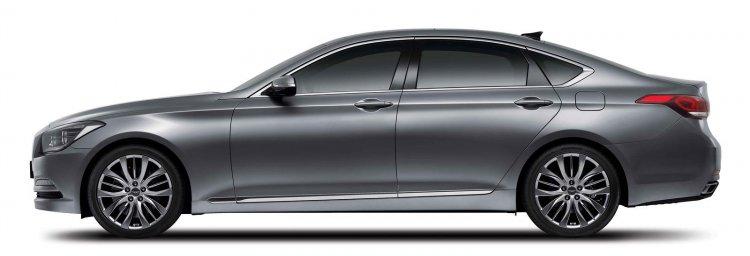 2014 Hyundai Genesis launched side