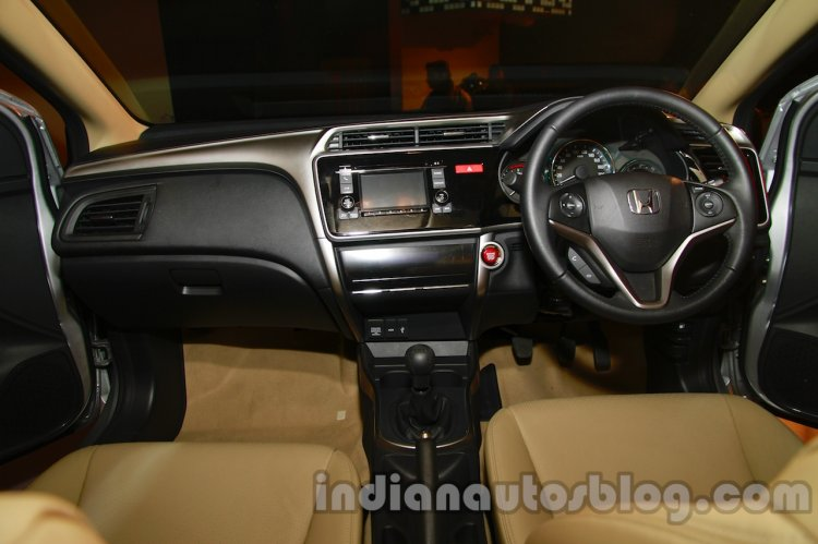 All New Honda City in India dashboard