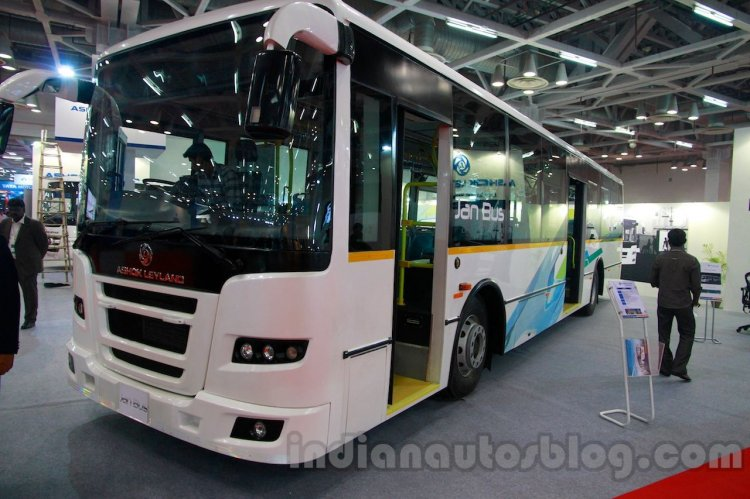 Ashok Leyland Jan Bus at the Bus & Utility Expo 2013