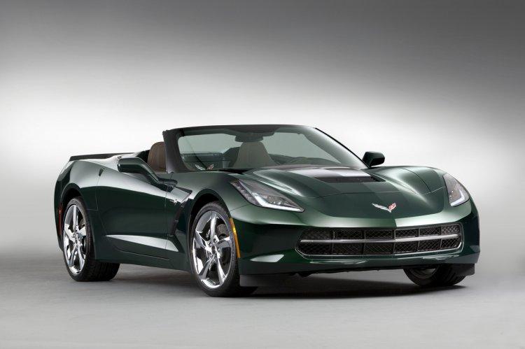 2014 Corvette Stingray Premiere Edition Convertible front