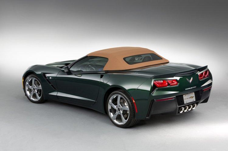 2014 Corvette Stingray Premiere Edition Convertible rear
