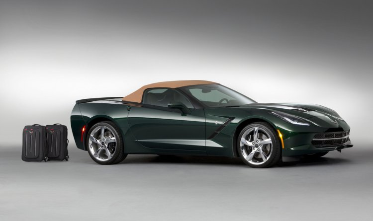2014 Corvette Stingray Premiere Edition Convertible side