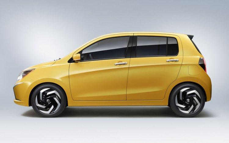 Suzuki A:Wind Concept side view at Thailand International Motor Show