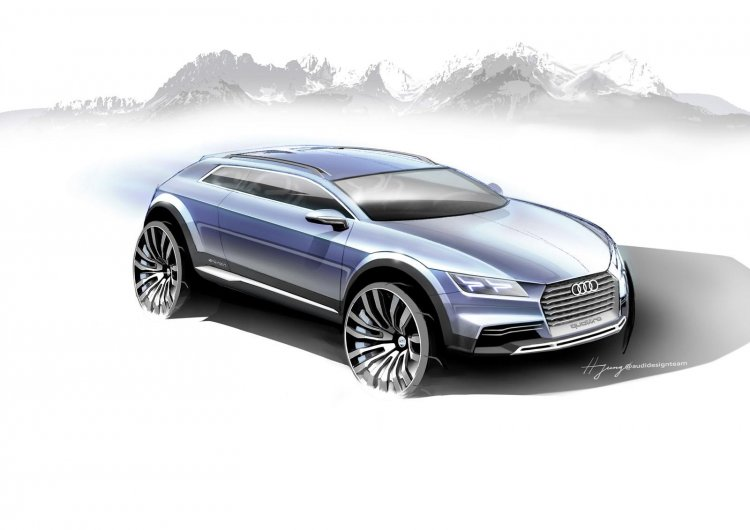 Audi Compact SUV coupe 2014 NAIAS concept