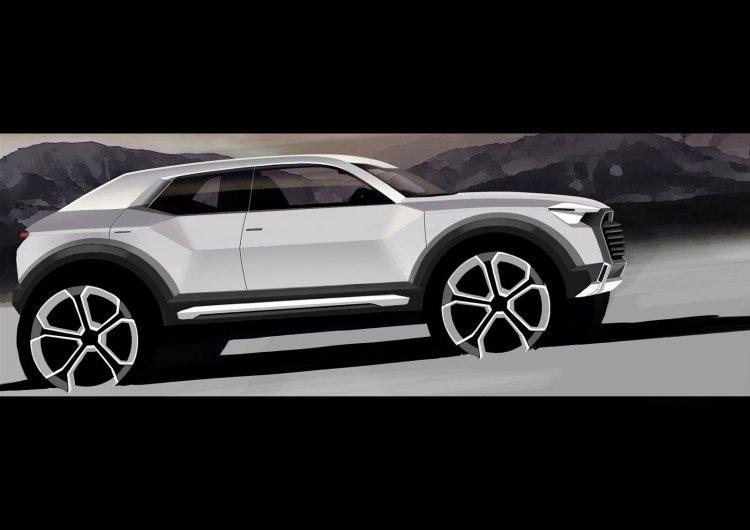 Audi Q1 Crossover teaser