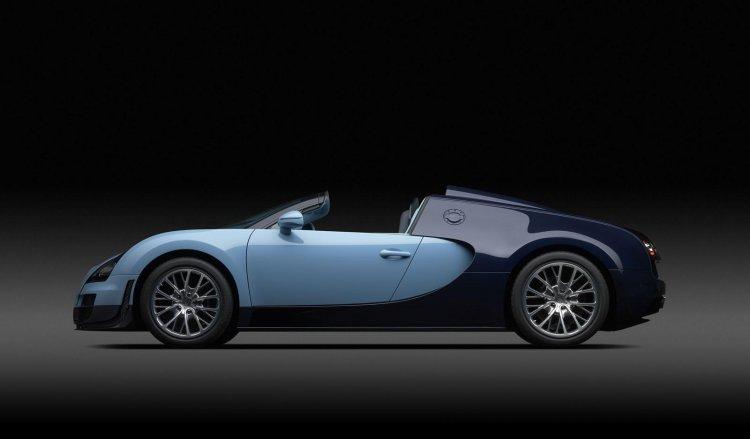 Bugatti Veyron Jean-Pierre Wimille side